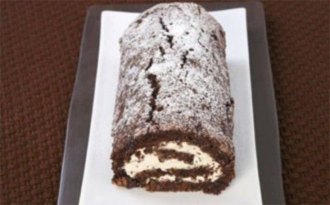 10 naughty things to make with Baileys - Chocolate and Irish cream roulade - goodtoknow