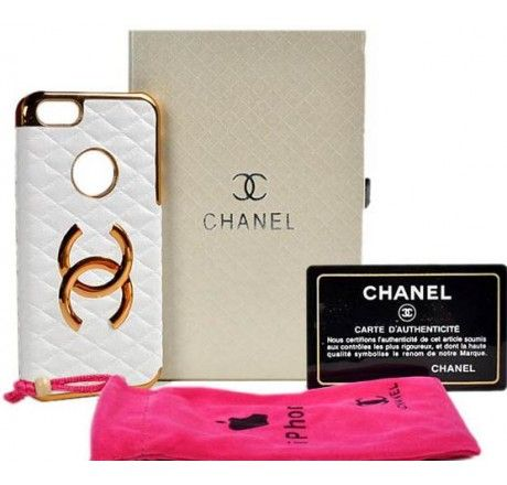 New Arrival Real Chanel iPhone 6 Cases - iPhone 6 Plus Cases - Leather White - Free Shipping - Chanel & Louis Vuitton Authorized Store