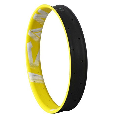 ICAN 26er Yellow Carbon Fat Bike Tubeless Rim 90mm wide (scheduled via http://www.tailwindapp.com?utm_source=pinterest&utm_medium=twpin&utm_content=post9696054&utm_campaign=scheduler_attribution)