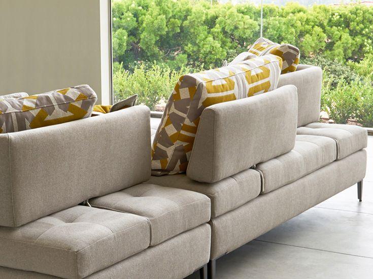 Dellarobbia Berlin Sectional In 2020 Modern Sofa Sectional Modern Sectional Luxury Furniture Stores