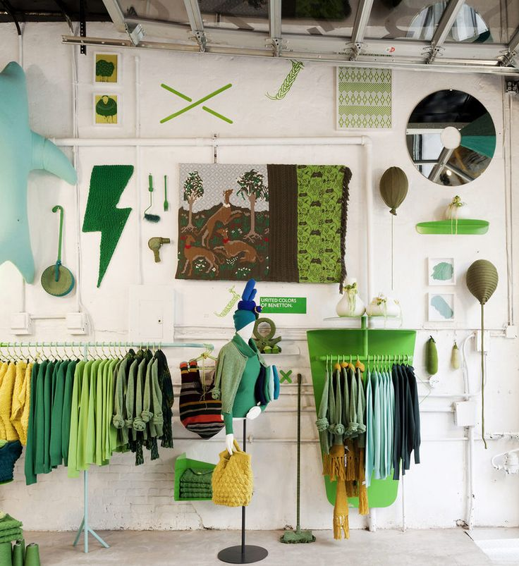 colors!  Benetton's Pop-Up Shop Is Full of NSFW Mannequins - Pop-Up Shops - Racked NY