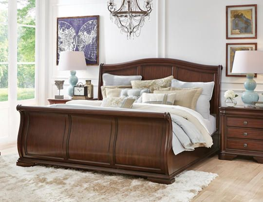 Rochelle King Sleigh Bed   Art Van Furniture. 343 best Art Van Furniture images on Pinterest   Art van  Bedroom