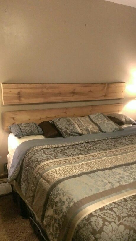 Reclaimed Barn Wood Headboard Barnwood Pinterest