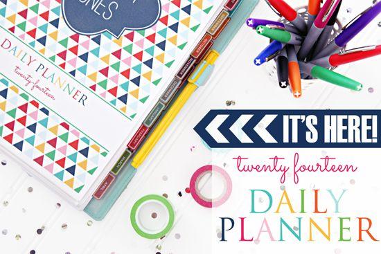 2014 Daily Planner (Sooops cute)