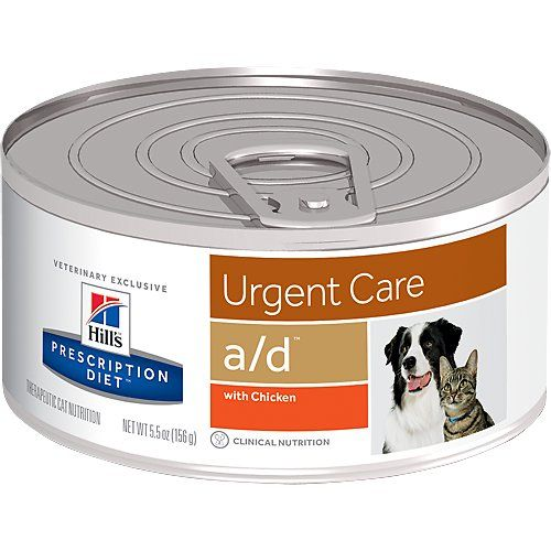 Buy Hill S Prescription Diet A D Urgent Care With Chicken Canned Dog Cat Food 5 5 Oz Case Of 24 At C Diet Dog Food Dog Food Recipes Hills Prescription Diet
