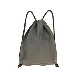 Convertible Leather Bag in Shadow Gray. -Sovie-