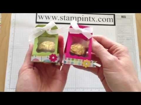 How to create a candy / treat holder for a Ferrero Rocher chocolate