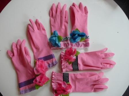 Handschoenen gepimpt met naschoolse opvang, dit was het moederdagcadeau dit jaar!