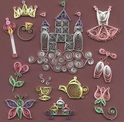 quilling patterns to print | Quilling kits include basic instructions, patterns, ideas and ...