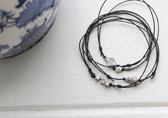 Featured #etsy Seller: Boho anklet, silver ankle bracelets, charm ankle bracelets by Serenity Project. Hippie boho gypsy… #jewellery