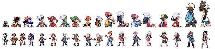 pokemon games characters - Buscar con Google