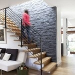 stairs, with rock wall - our kind of laja