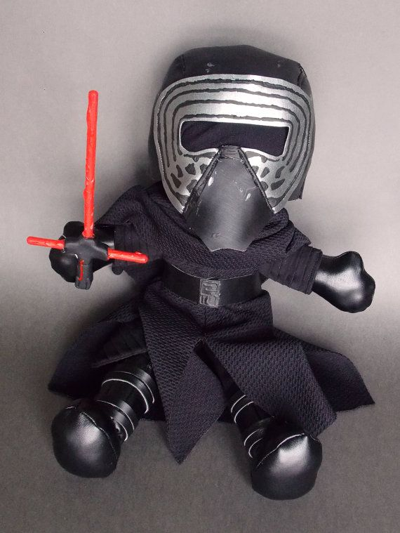 Kylo Ren Star Wars The Force Awakens Plush by MrDollsyPlushberley