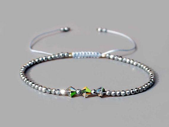 NEW  Beautiful handmade women bracelet hematite by euforioHandmade