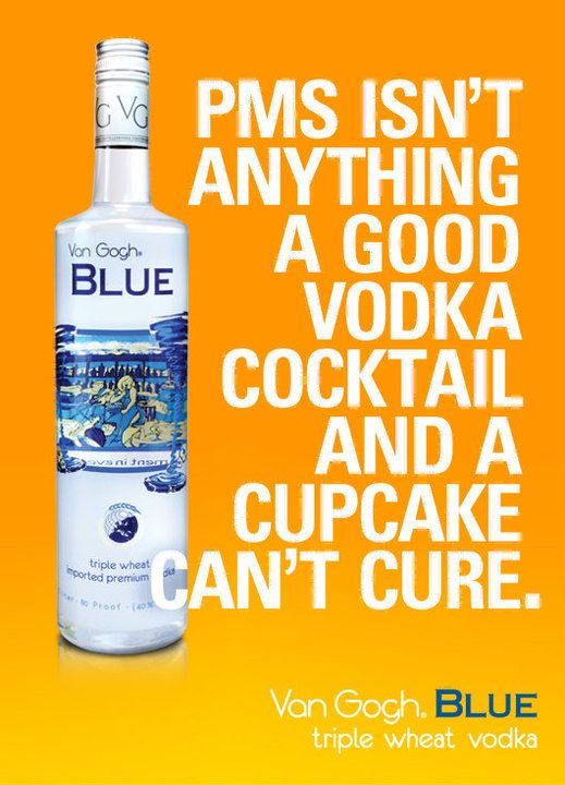 It's the Vodka and cupcake cure