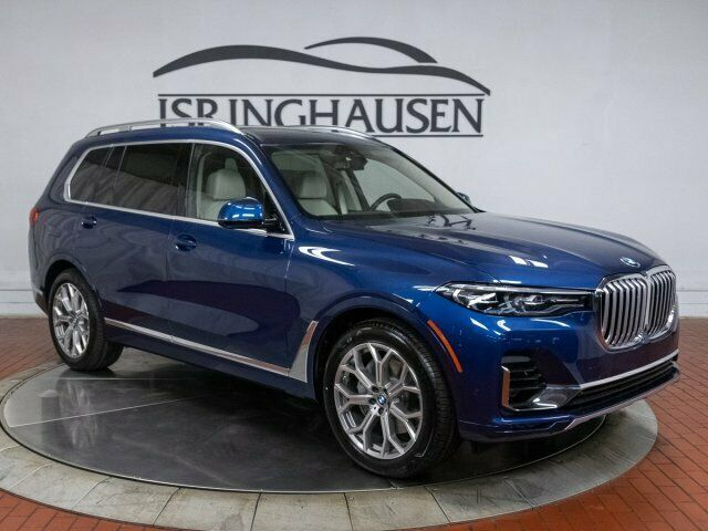 2020 Bmw X7 Xdrive40i 2020 Bmw X7 Xdrive40i 0 Phytonic Blue Metallic Sport Utility Intercooled Turbo P In 2020 Bmw X7 Bmw Cars Trucks