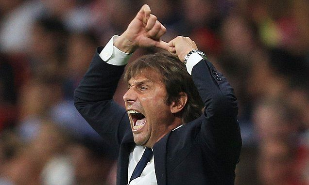 Antonio Conte angry at Chelsea's Premier League scheduling | Daily Mail Online