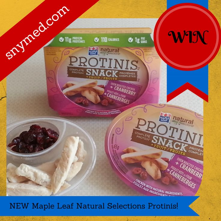 WIN 1 of 2 Protinis Snack Prizes from SnyMed.com! GOOD LUCK!  ENTER: http://www.snymed.com/2014/04/new-maple-leaf-natural-selections.html Ends 6/11/2014.