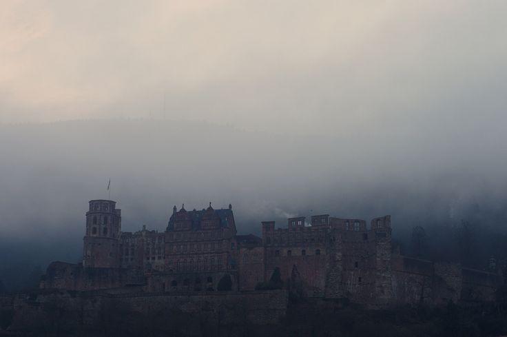 Heidelberg Castle - Castle in Heidelberg early morning