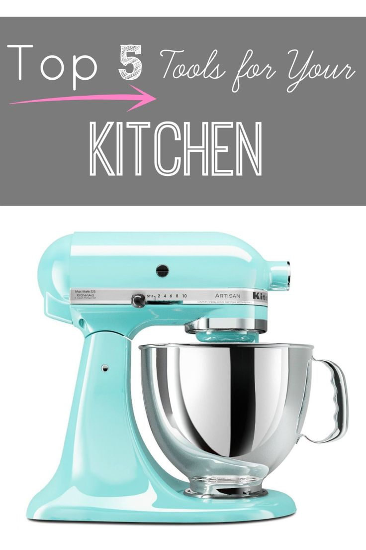 Rootandblossom: Top Five {Large} Kitchen Must Haves