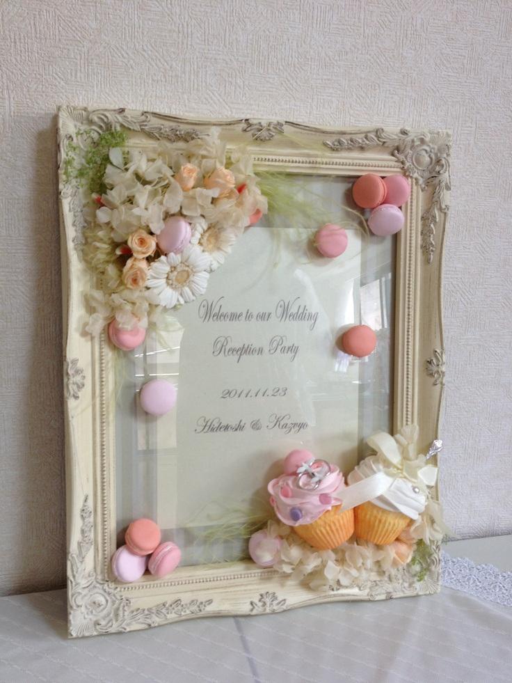 Dolce Deco Wedding, welcome board