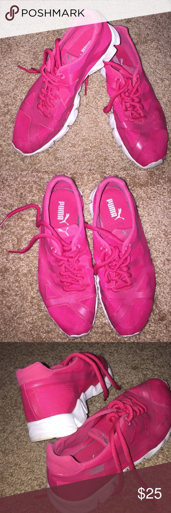 Pink Puma sneakers workout training Pink Puma sneakers workout training Puma Shoes Athletic Shoes