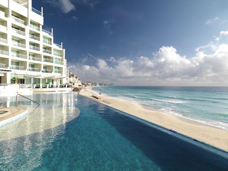 Imagine your honeymoon here. Sun Palace, couples only, all-inclusive resort in Cancun. #Travel #WeddingIdeas #Honeymoon