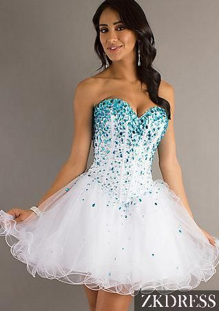 2014 homecoming dress. Im absolutely in love with these colors and the design of the dress