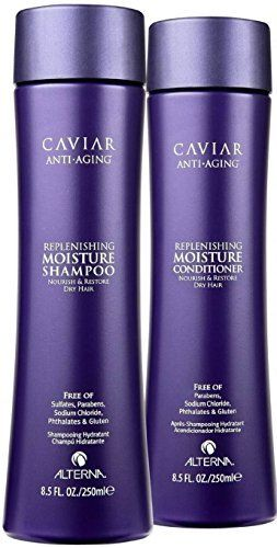 Alterna Caviar Replenishing Moisture Shampoo & Conditioner Duo (8.5 oz each) http://www.thecoiffeur.com/alterna-caviar-replenishing-moisture-shampoo-conditioner-duo-8-5-oz-each-3/