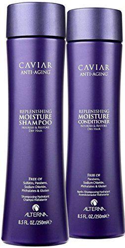 Alterna Caviar Replenishing Moisture Shampoo & Conditioner Duo (8.5 oz each) http://www.thecoiffeur.com/alterna-caviar-replenishing-moisture-shampoo-conditioner-duo-8-5-oz-each-3/