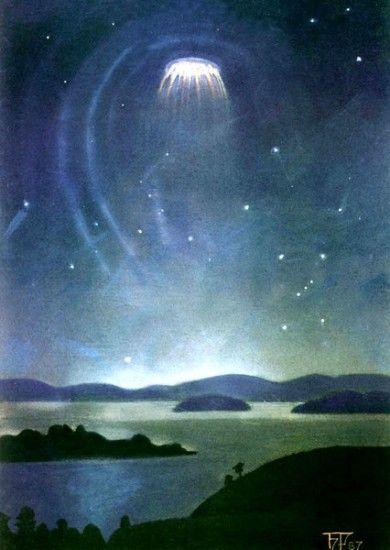 НЛО над озером