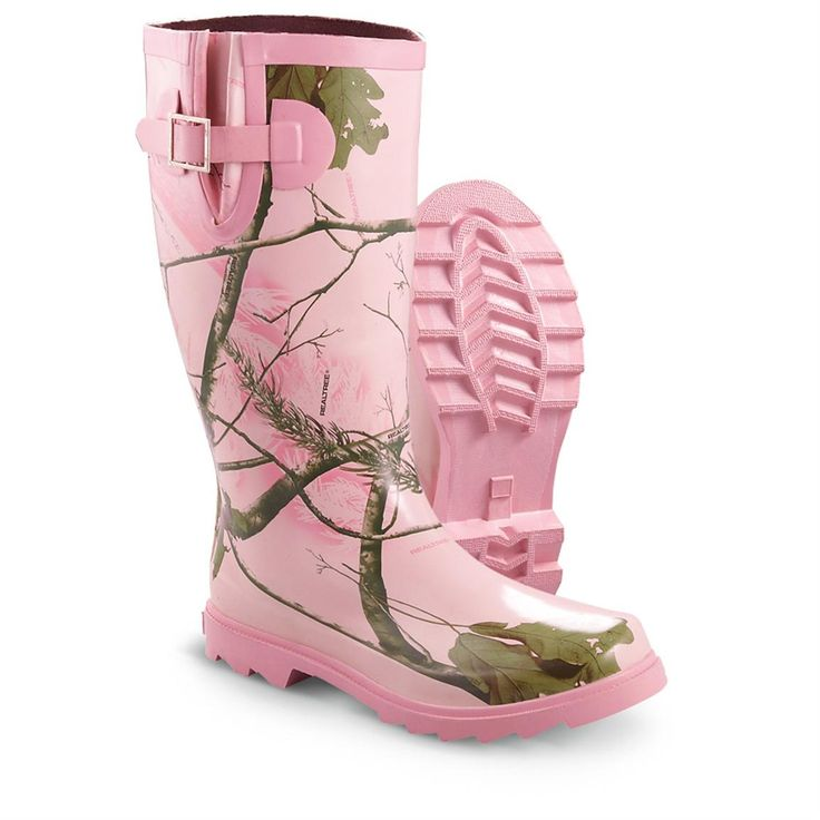 pink camouflage | Women's Realtree Girl Rain Boots