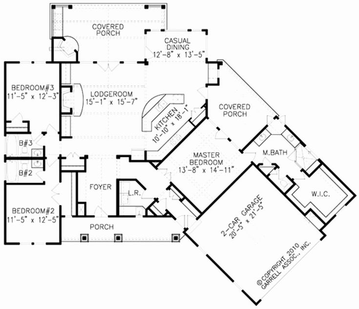 19 Elegant 1800 Square Foot House Plans In India Gallery