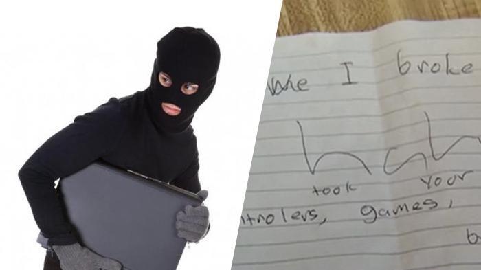 Pencuri Tinggalkan Catatan Ini di Rumah yang Dirampok, Tulisannya Membuat Pilu…