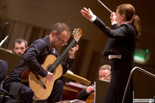 Koncert symfoniczny / Krzysztof Meisinger / Zdjęcia Arkadiusz Sikorski www.arq.pl