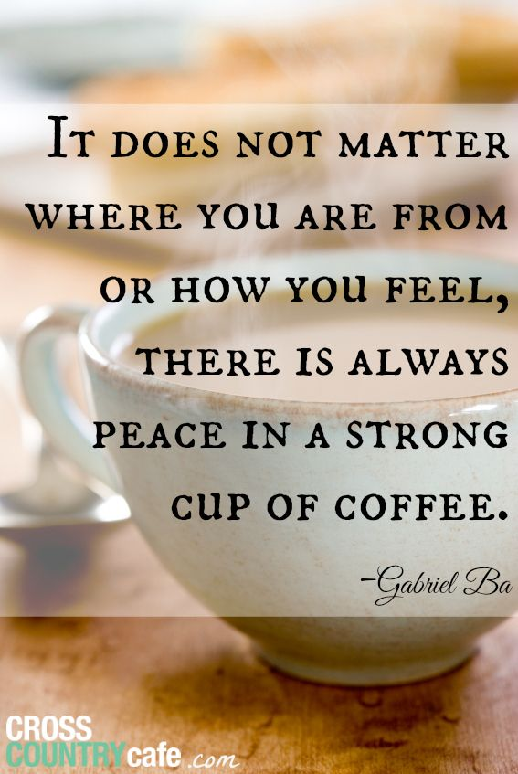 There's nothing like a strong cup of coffee to bring you back down to earth! #MrCoffee #coffee