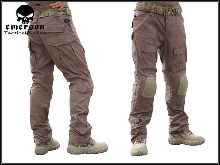 Købt: EMERSON G3 Combat Pants with Knee Pads (CB) (Size optional) EM6987