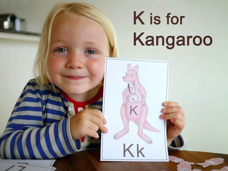 Little Hiccups: 31 Days of ABCs: K is for Kangaroo