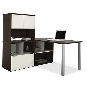 best 25 l desk ideas only on pinterest desk art desk and l shaped office desk. Black Bedroom Furniture Sets. Home Design Ideas