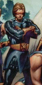 "Scotius SUMERISLE   Earth 311   ""Scott SUMMERS"" (CYCLOPS)   Marvel 1602#1 (2003)   One DAY One HERO"