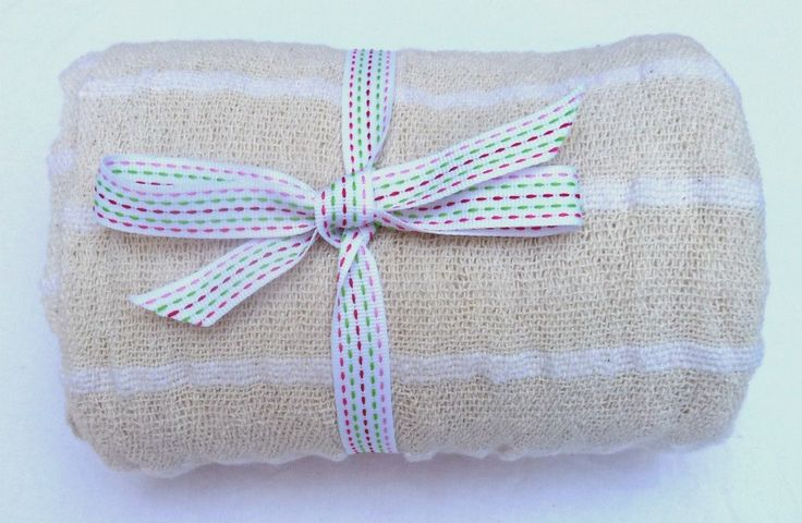White Baby Blanket - 100% cotton - Hand Woven in South Africa with Love by MathildeAndCo on Etsy