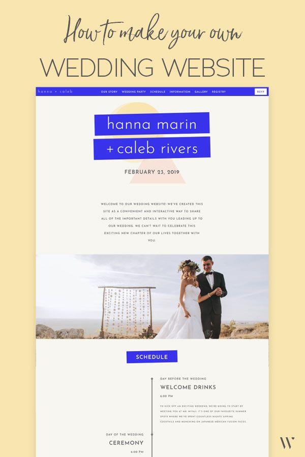 Create Your Own Wedding Website Wedding Website Ideas Wedding Website Templates Wedding Webs Wedding Website Builder Wedding Website Wedding Website Design
