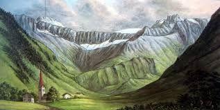landschap van M.C Escher