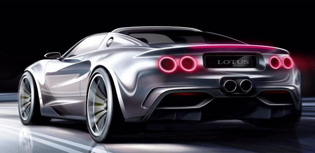 Lotus-Elise-Series 1 sketch rear