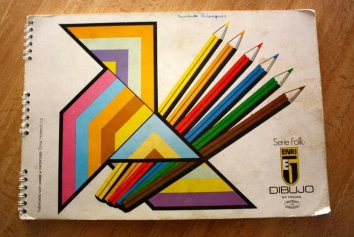 Quadern de dibuix Enri Serie Folk
