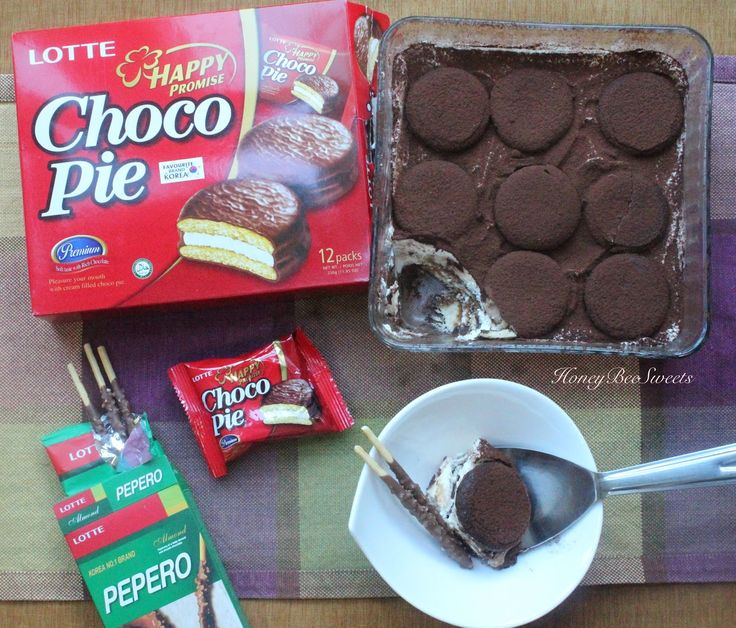 Honey Bee Sweets: Easy Tiramisu with LOTTE Choco Pie