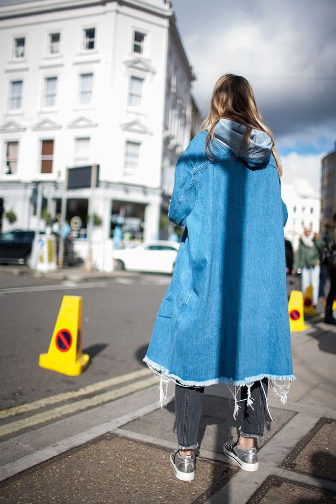London Fashion Week Street Style RTW Fall 2016...