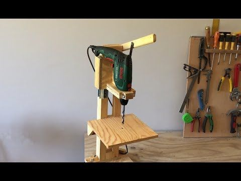(20) 4 in 1 Drill Press Build Pt1 : The Drill Press / 4 in 1 Sütun Matkap 1. Bölüm - YouTube