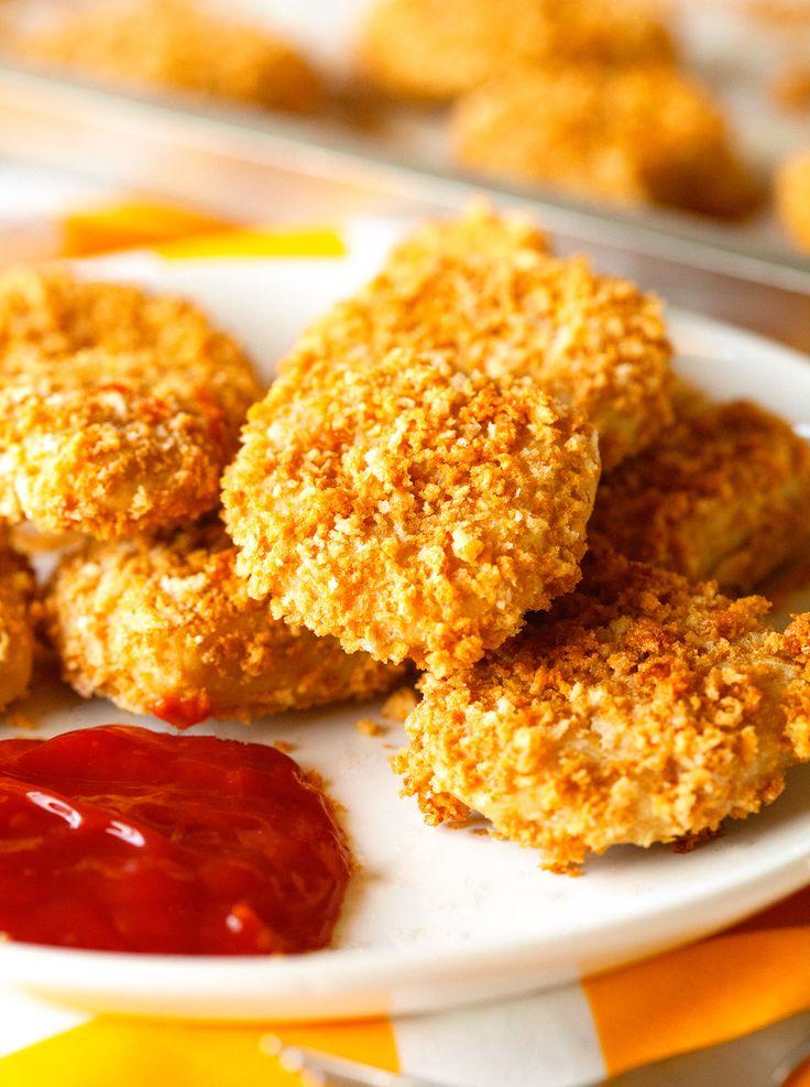 Meatless Chicken Nuggets With Chickpeas Panko Seasonings