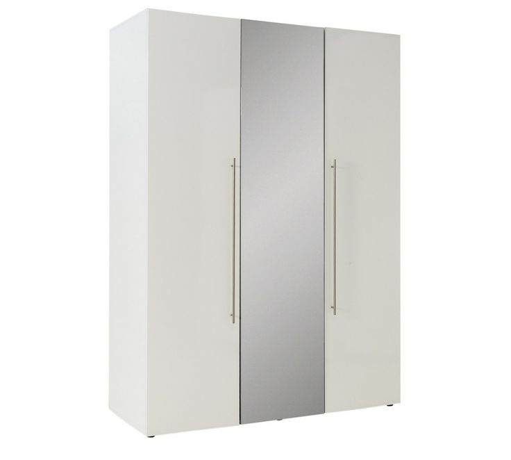 Buy Hygena Atlas 3 Door Mirrored Gloss Wardrobe - White at Argos.co.uk, visit Argos.co.uk to shop online for Wardrobes, Bedroom furniture, Home and garden
